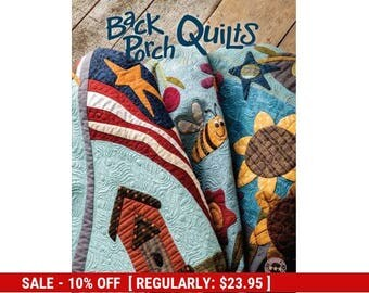 SALE** Back Porch Quilts - Book - Patterns - by One Sister