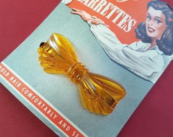"Vintage ""Goody"" bow barrette hair clip"