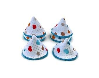 Set of 6 cones Teepees (shield pee pee teepee)