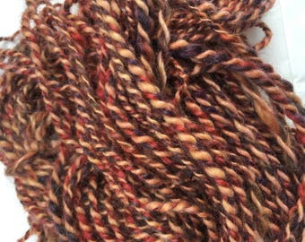 Maple - Hand Spun, Hand Dyed Alpaca yarn