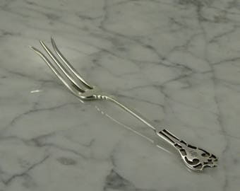 Antique Sterling Silver Lemon Fork