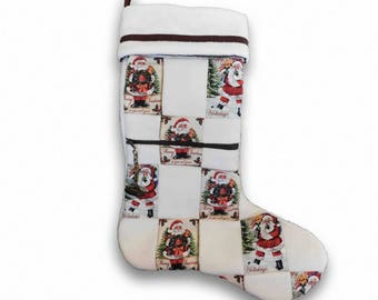 Zippered Christmas Stocking