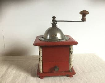 French Vintage Peugeot Freres Coffee Grinder