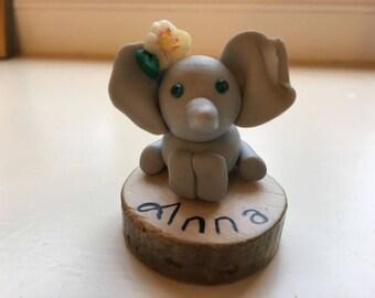 Personalised Little Elephant Figurines