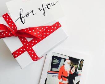 """Holiday/Christmas Greeting Card """"Santa"""""""
