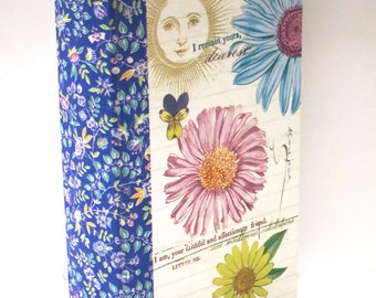 Hardcover adorable Sunshine Flowers decorative hidden book safe magnetic door