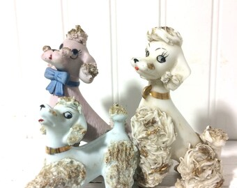Lot of 3 Mismatched Spagetti Poodles