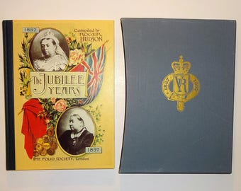 1996 THE JUBILEE YEARS 1887-1897, Illustrated, Folio Society w/Slip Case, Like New