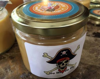 Yo Ho, Pirates Candle - Inspired by Disney's Pirates of the Caribbean ride - 12 oz