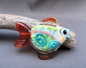 Whimsical Bright Fish - Funky Fish Collection