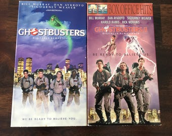 Ghostbusters VHS Video Set