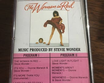 The Women In Red Soundtrack Cassette Tape