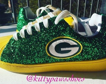 Green Bay Packers Womens Tennis Shoes