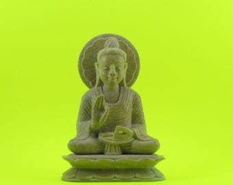 Buddha natural Soapstone statue ,Buddha gift,Buddha art,sculpture,Buddhism.Buddha gift,Buddhism,stone sculpture,Buddha altar,alter,temple,