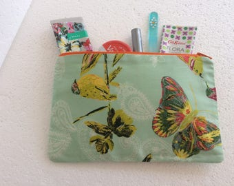 Makeup bag - cosmetic bag -toiletry pouch - toiletry bag