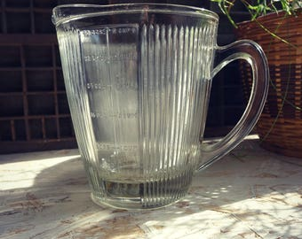Pitcher / measuring cup - measurements Conversion - pitcher old glass dispenser