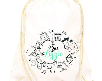 Customize design school backpack