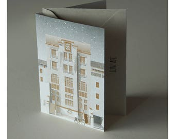 Christmas Cards _ The Postoffice in Aurillac