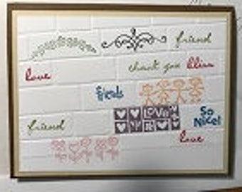 Grafitti Love Greeting Card