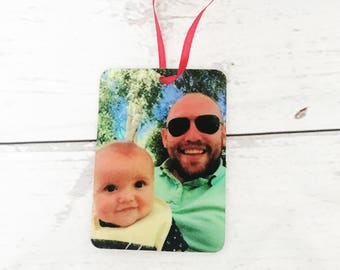 Personalised Car Air Freshener Your Photo Birthday Wedding Gift Baby Shower Stocking Filler Accessory New Car