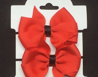 "2.5"" Red Ponys"