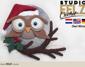 Owl Wreath - Crochet Pattern
