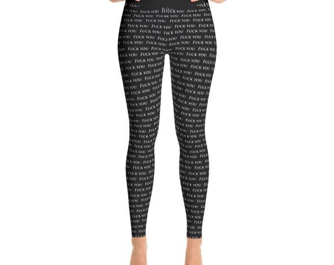 Fuck You Yoga Pants