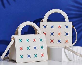 Zai-Mu Calfskin Crossbody Bag