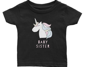 Baby Sister Matching Sibling Infant Tee