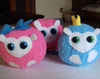 Pigmy! Inspired by the magical world of Harry Potter-Pygmy Puff-Fantasy magic for your Christmas gifts-Adopt a pigmy!!