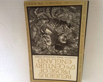 Religious Prose of 17th Century England.  1966 Edition.