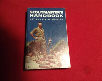 Scoutmaster's Handbook, Voy Scouts of America 1960 Edition