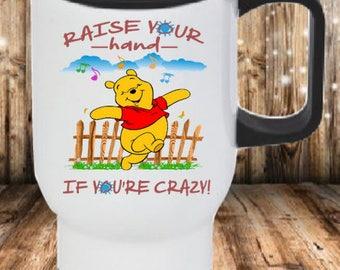 Pooh-Raise your Hand Coffee Mug