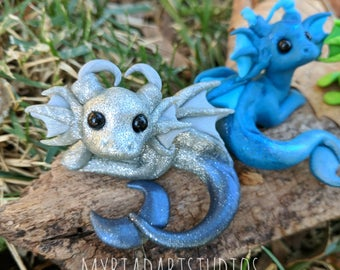 Made to order! Custom Merdragons - Polymer Clay Sculpture