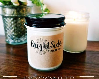 Coconut soy candle | 7 ounces