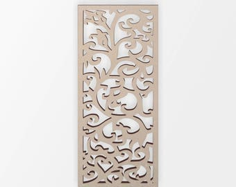 Wooden Shape Wall Panel, Wooden Cut Out, Wall Art, Home Decor, Wall Hanging, Unfinished and Available from 2 to 42 Inches