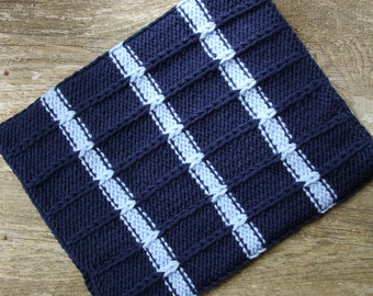 Navy scarf navy blue scarf cowl neck warmer handmade neckwarmer neck wrap chunky neck warmer neck gaiter mens scarf knit neck warmer wool