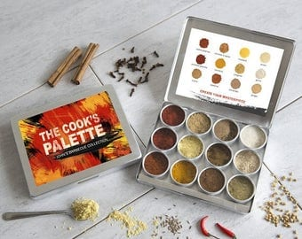 SALE -  Personalised Barbecue Spice Powder Collection -Gift for Him - BBQ Gift - Foodie Gift - Bbq Seasoning - Spice Rub - Spice Rack