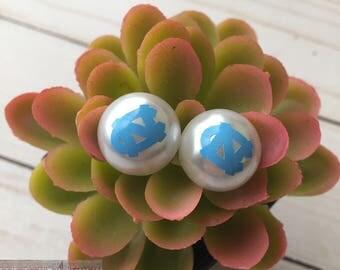 north carolina pearl earrings