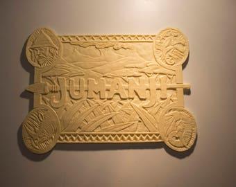 Jumanji board face plate