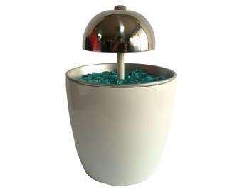 Water Feature Indoor Tabletop S white