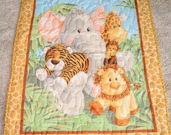 Jungle Baby /Toddler Quilt