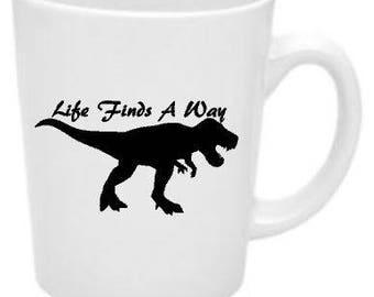 Life Finds A Way Mug
