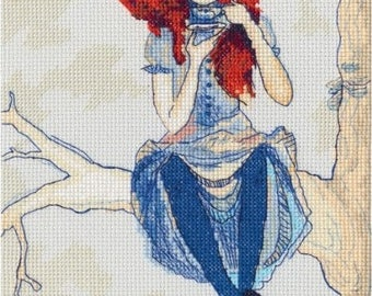 "Counted Cross Stitch Kit ""RTO"" - ""My cup of tea"""