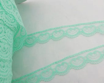 1 meter stripe green about 2 centimeters wide