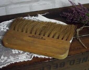 Vintage wallpapering brush,vintage paperhanging brush,vintage brush,wooden paperhanging brush,vintage decorating brush,decorators brush