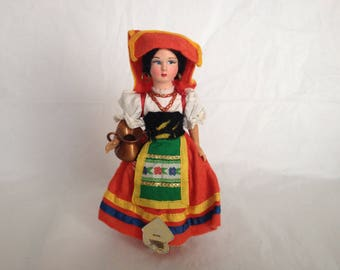 Vintage Malgis Roma Doll Made in Italy 1950s