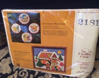 Christmas needle work kit