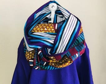 Infinity Scarf - African - OBI Scarf - DNA