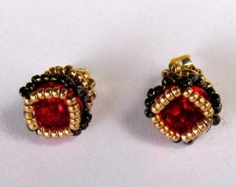 Cute little Swarovski Princess Earrings,